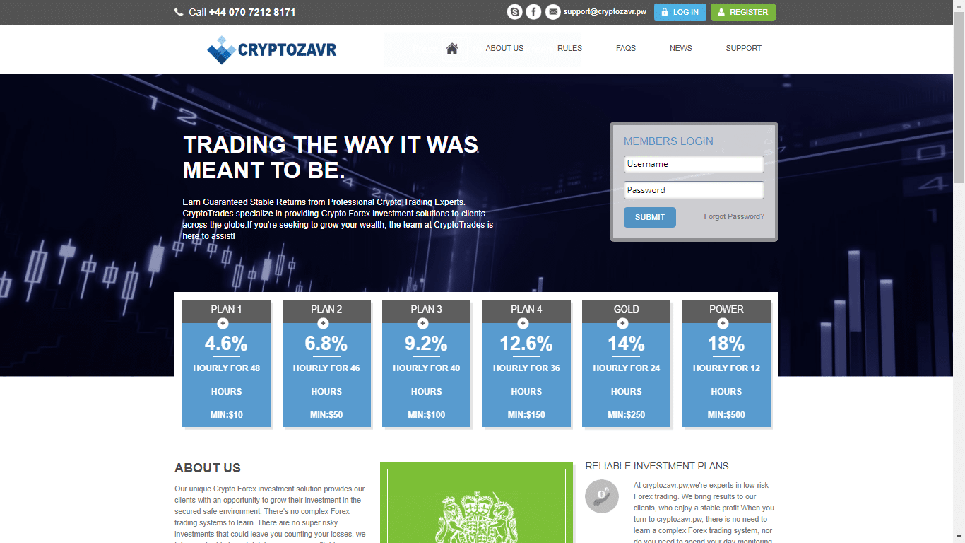 cryptozavr.pw May 22, 2020