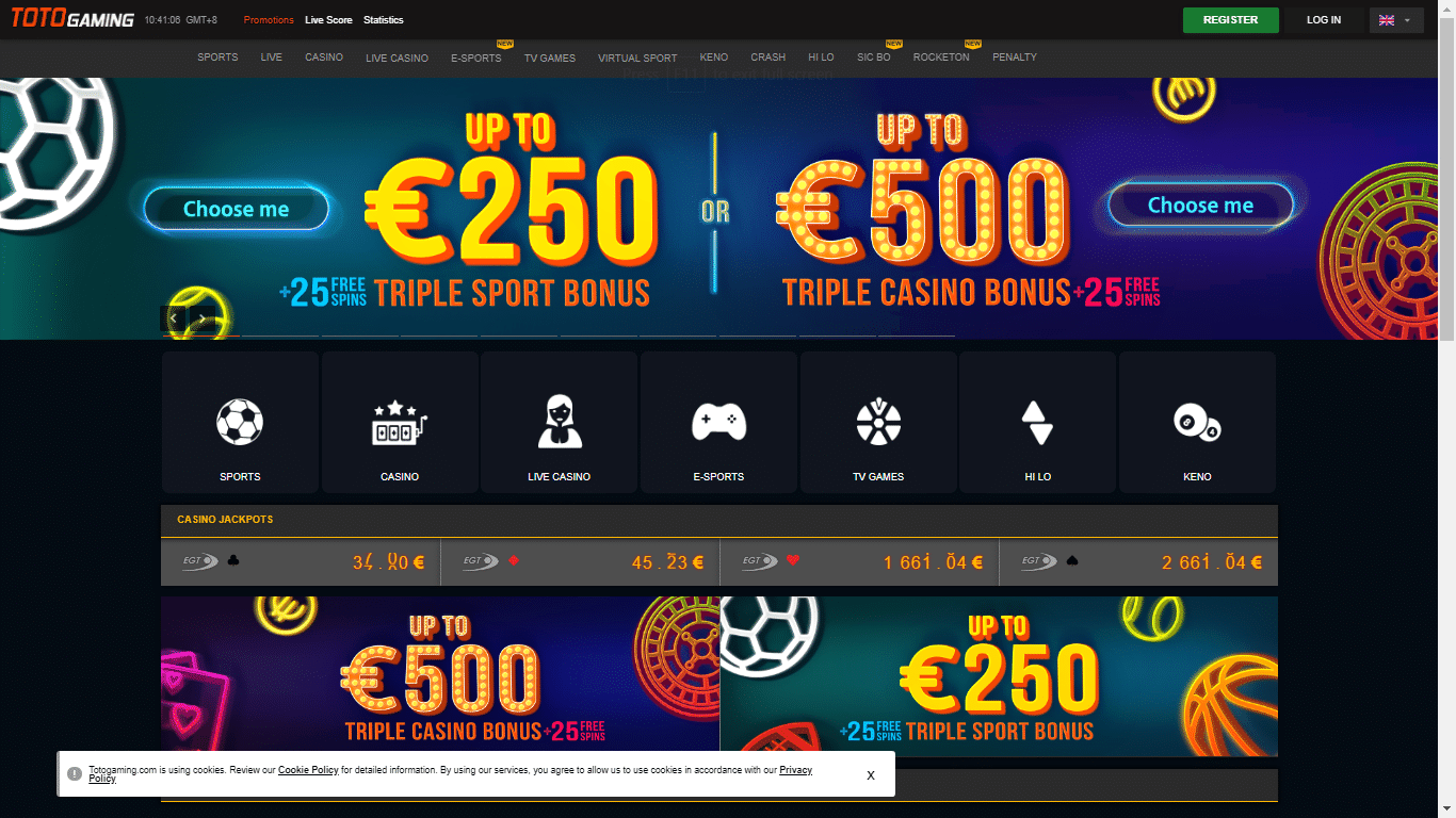 Totogaming.com July 14, 2020