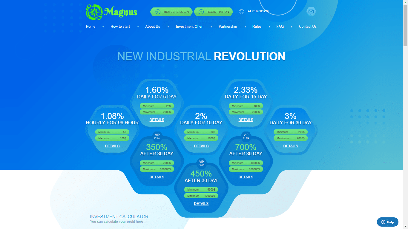 Magnuscapital.org July 29, 2020