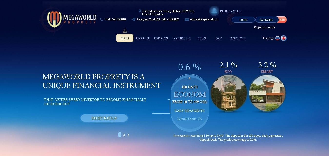 Megaworld.cc November 25, 2020