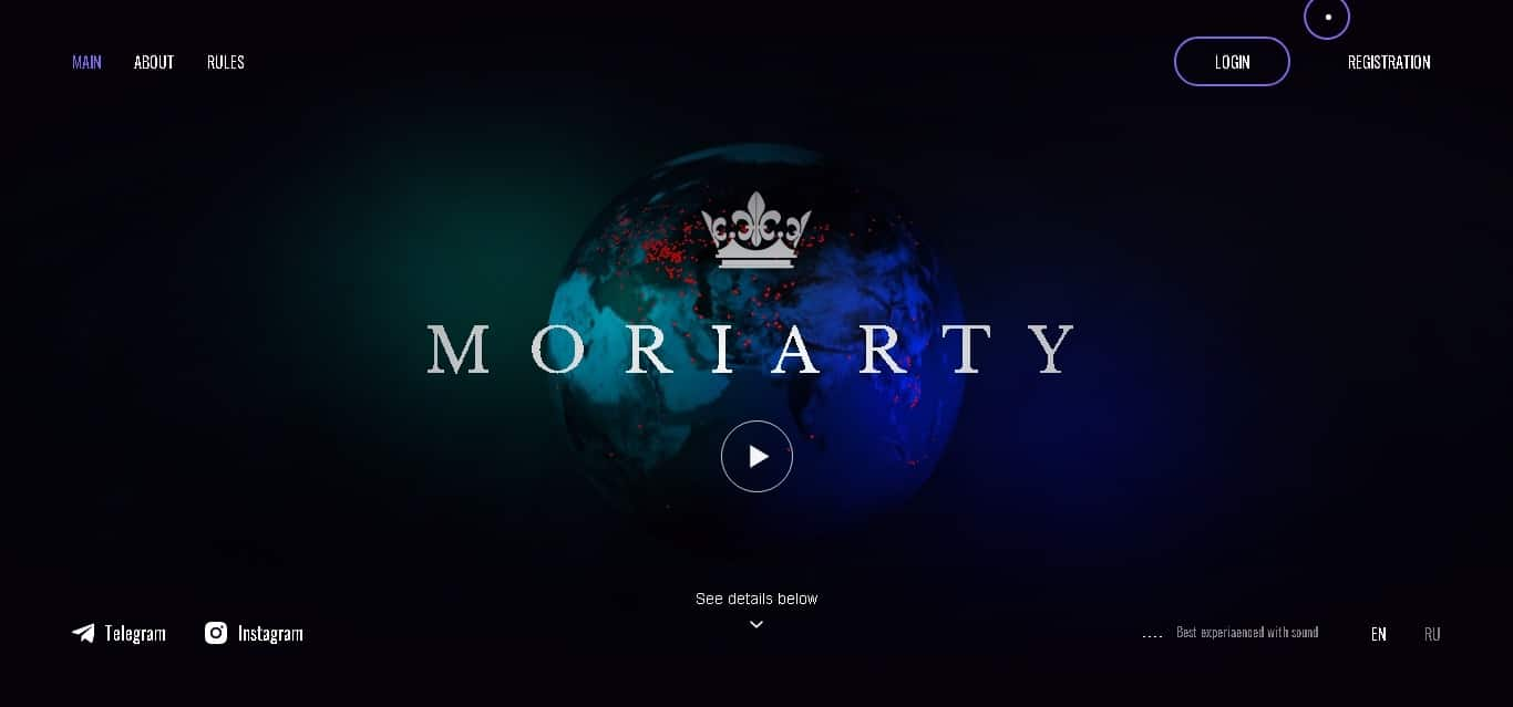 moriarty-2.io July 7, 2020