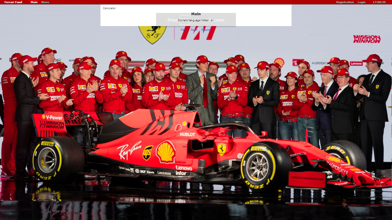 Ferrari-fund.co September 18, 2020