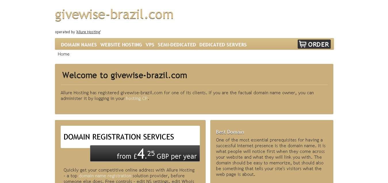 givewise-brazil.com August 12, 2020