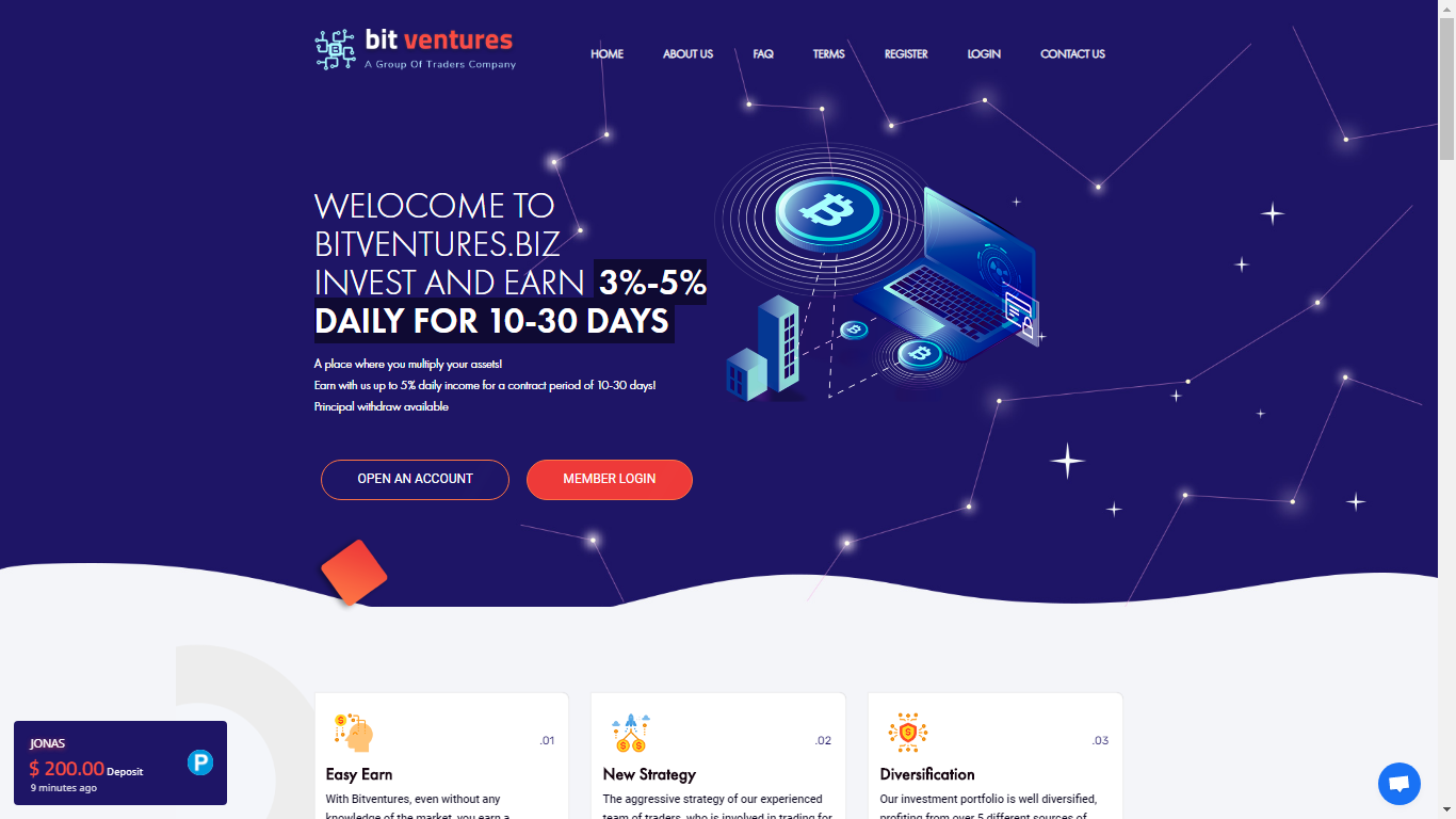 Bitventures.biz October 15, 2020