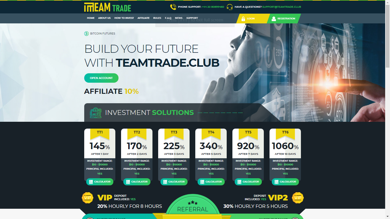 Teamtrade.club December 1, 2020