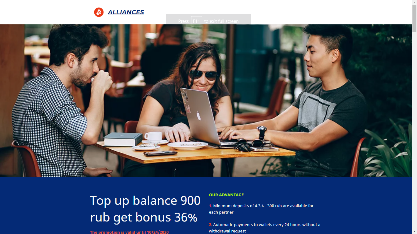Allianceinvest.uno October 8, 2020