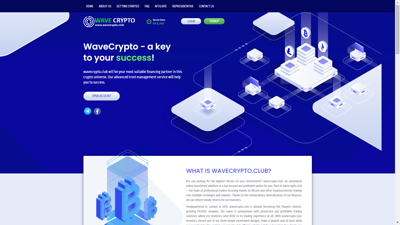 Wavecrypto.club October 10, 2020