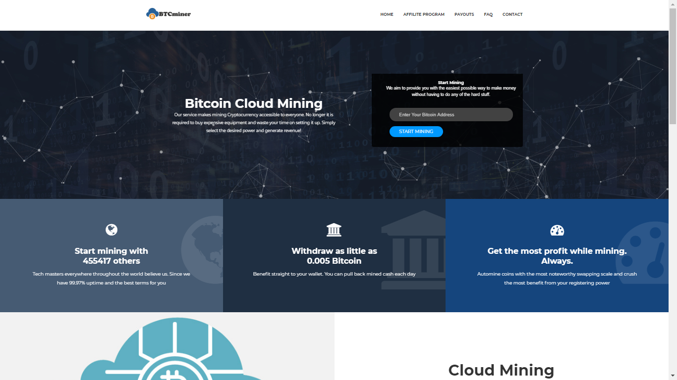 Btcminer.website October 13, 2020