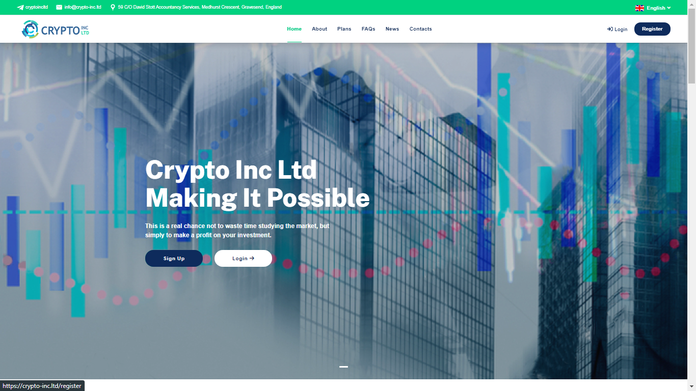 Crypto-inc.ltd March 4, 2021