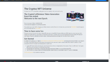 Bsc.cryptoz.cards March 19, 2021